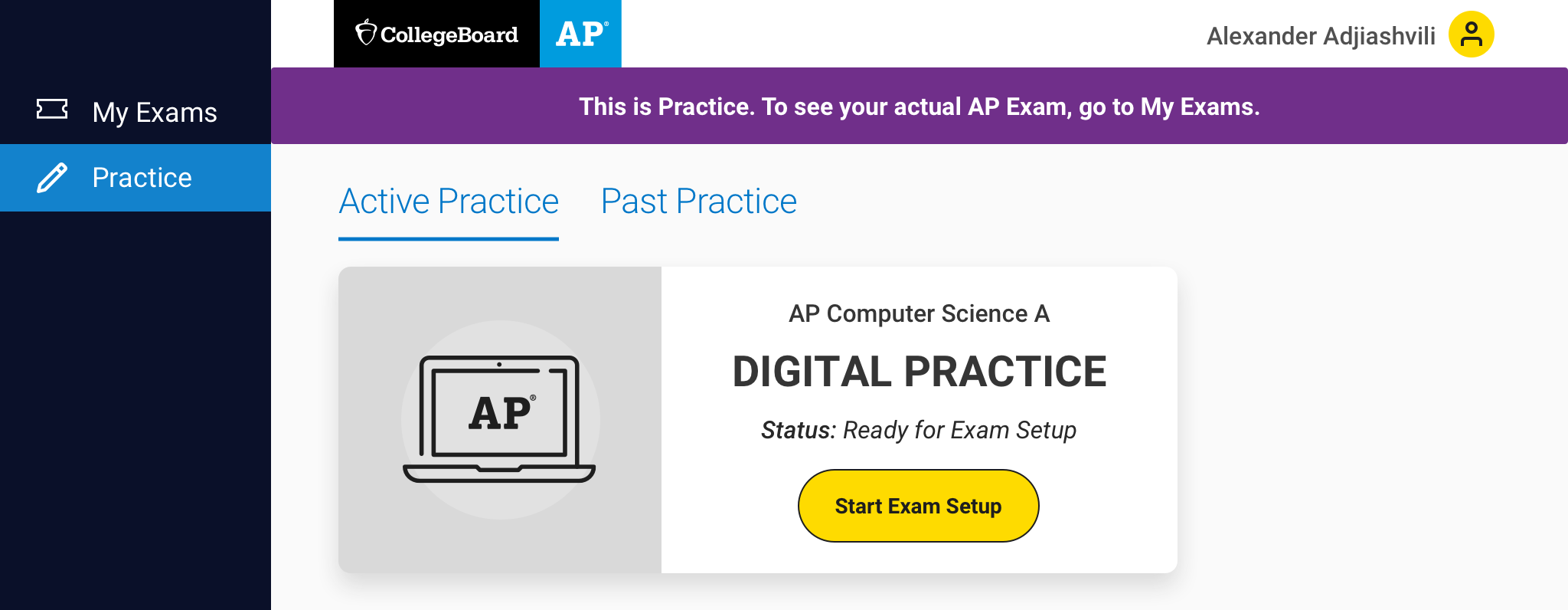 2021 AP Digital Exams - Practice